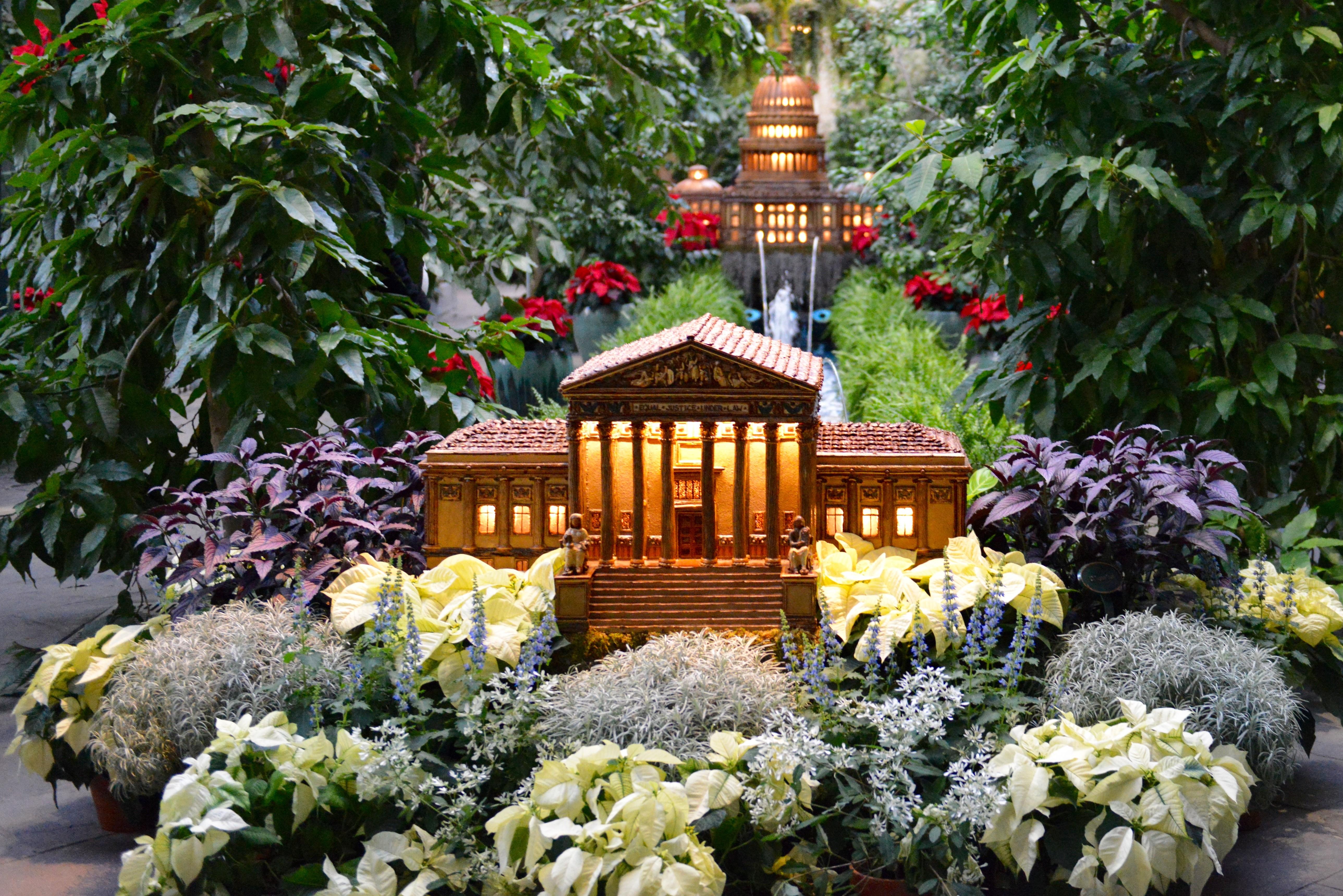 U S Botanic Garden S Seasonal Exhibit Opens Thanksgiving Day Pegplant