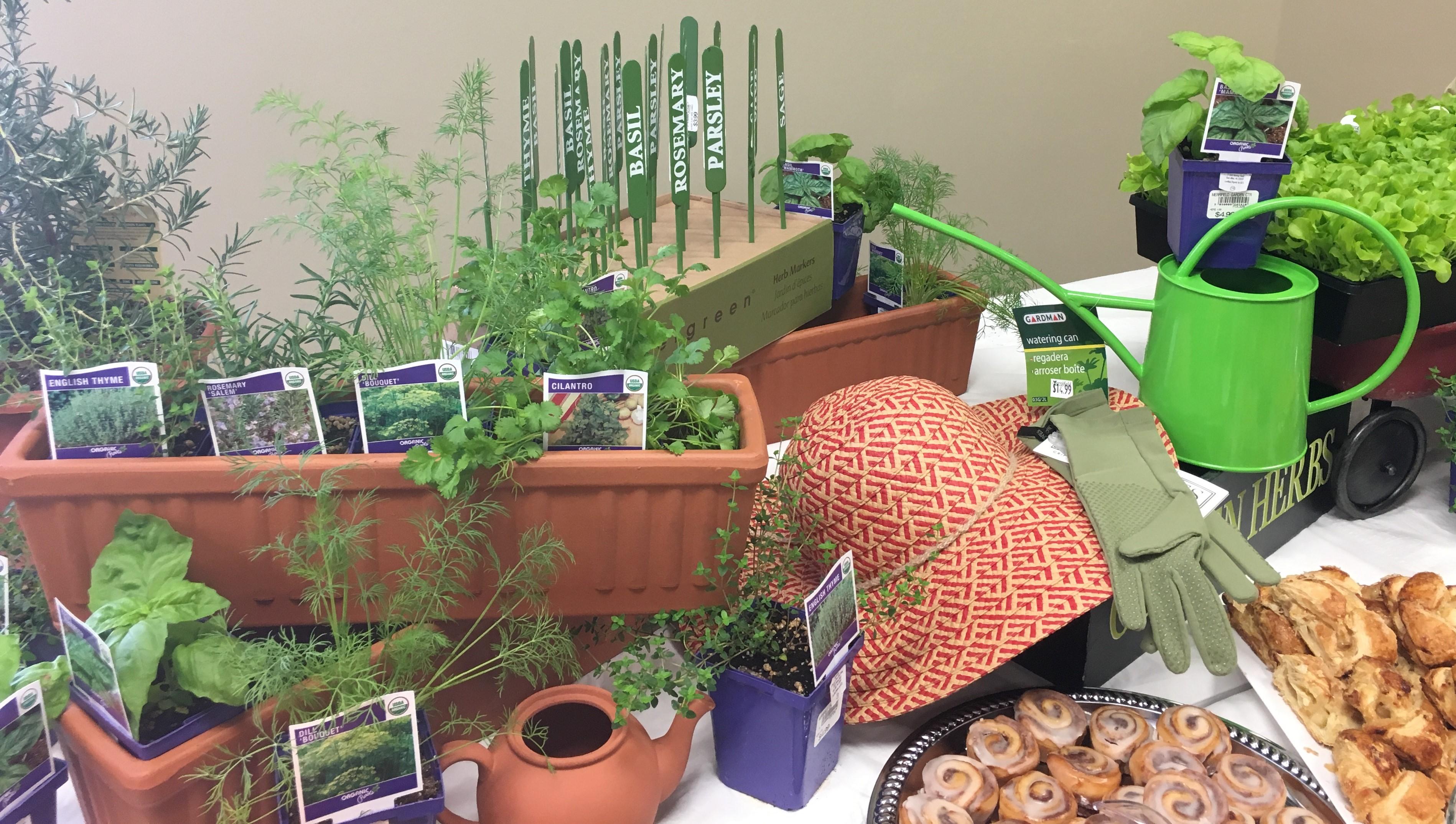 An Entertaining Lecture On Herbs At Merrifield Garden Center Pegplant
